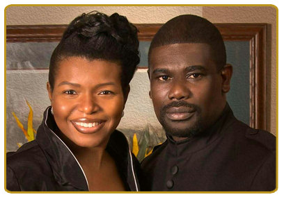Pastor Dameion L. royal and First Lady Melessha P. Royal